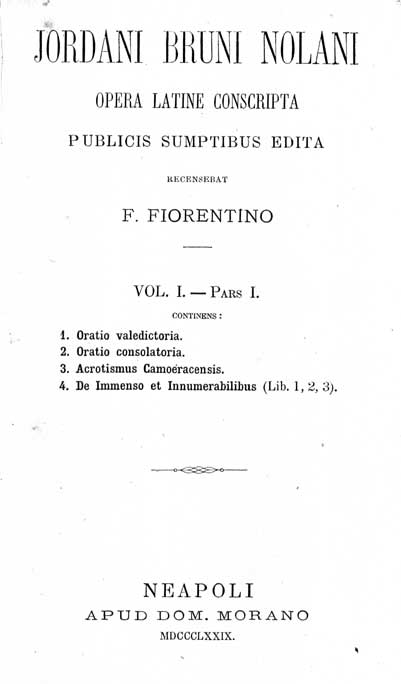 Bruno, Acrotismus