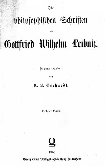 Leibniz, Causa Dei