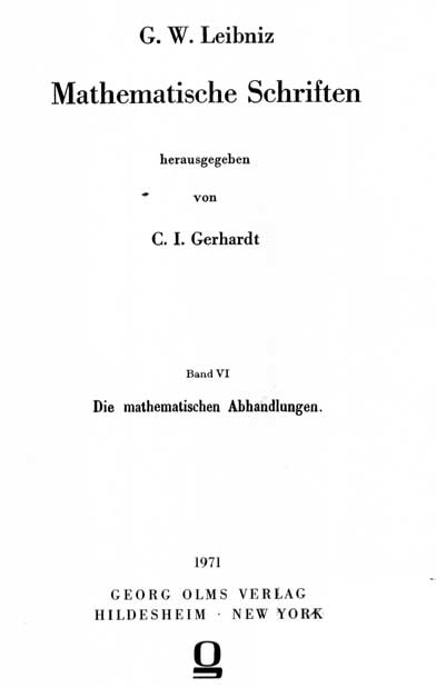 Leibniz, De causa gravitatis