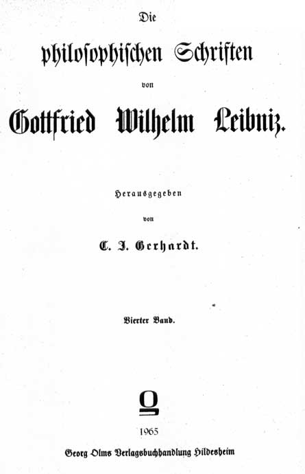 Leibniz, Sisteme nouveau