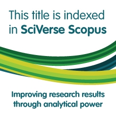 This title isindexed in SciVerse Scopus
